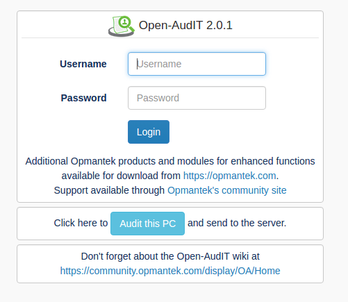 How to audit a Computer - Open-AudIT - Opmantek Community WIKI