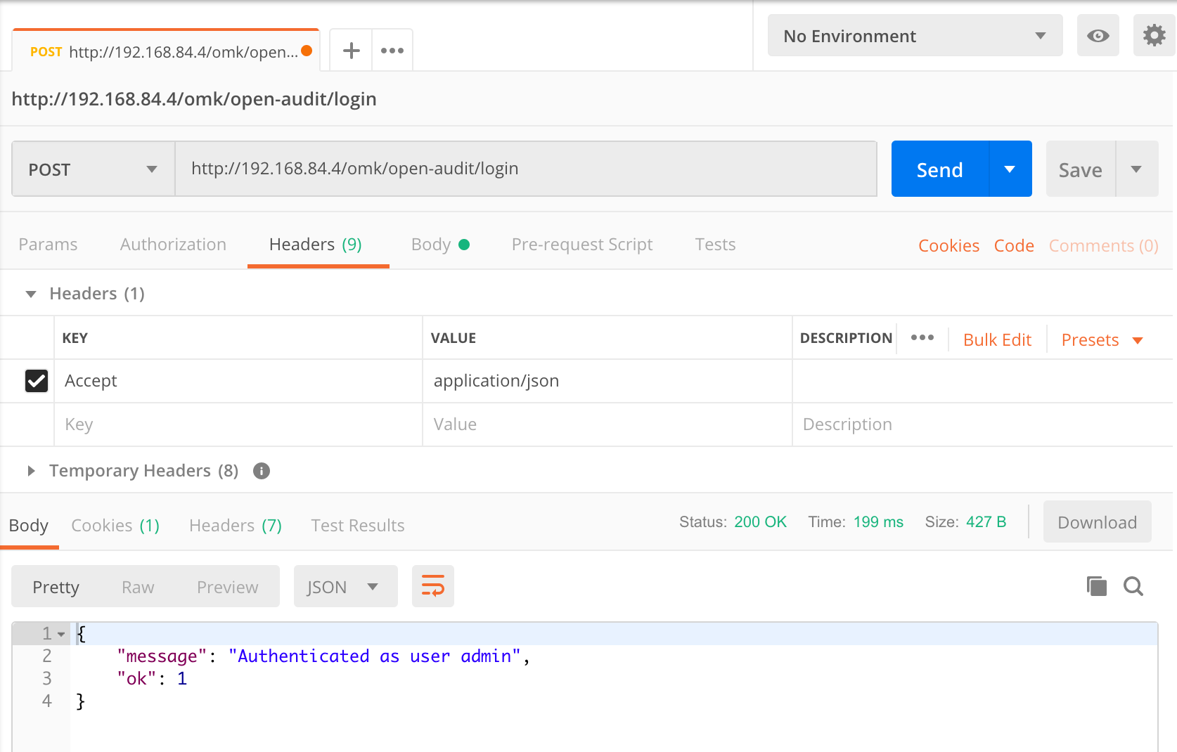 Using Postman to query the Open-AudIT API - Open-AudIT